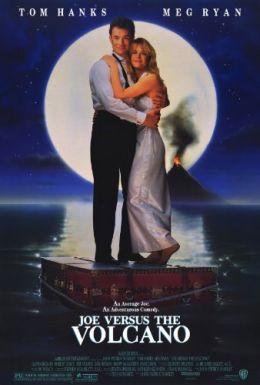 """Постер к фильму """"Джо против Вулкана"""" /Joe Versus the Volcano/ (1990)"""