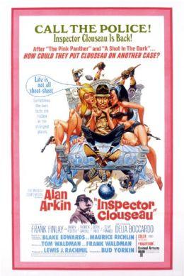 """Постер к фильму """"Инспектор Клузо"""" /Inspector Clouseau/ (1968)"""