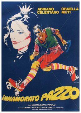 """Постер к фильму """"Безумно влюбленный"""" /Innamorato pazzo/ (1981)"""