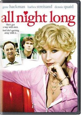 """Постер к фильму """"Всю ночь напролет"""" /All Night Long/ (1981)"""
