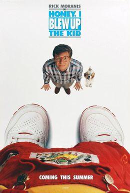 """Постер к фильму """"Дорогая, я увеличил ребенка"""" /Honey I Blew Up the Kid/ (1992)"""