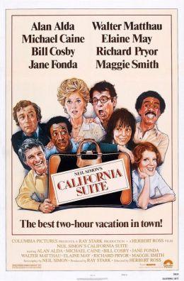 """Постер к фильму """"Калифорнийский номер"""" /California Suite/ (1978)"""