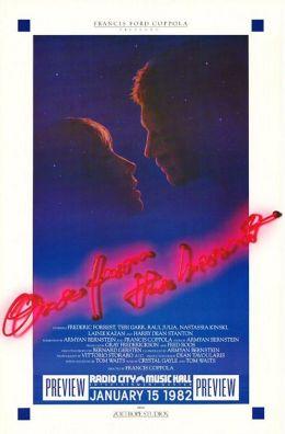 """Постер к фильму """"От всего сердца"""" /One from the Heart/ (1981)"""