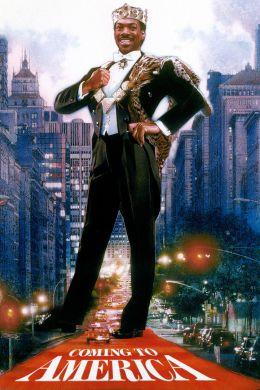"""Постер к фильму """"Поездка в Америку"""" /Coming to America/ (1988)"""