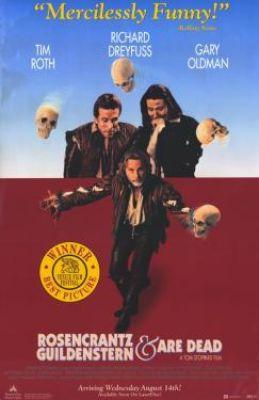 """Постер к фильму """"Розенкранц и Гильденстерн мертвы"""" /Rosencrantz & Guildenstern Are Dead/ (1990)"""