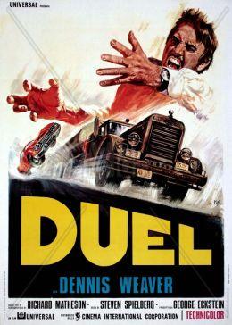 """Постер к фильму """"Дуэль"""" /Duel/ (1971)"""