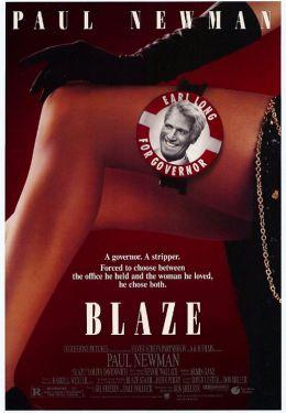 """Постер к фильму """"Блэйз"""" /Blaze/ (1989)"""
