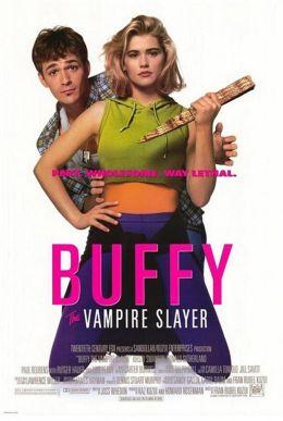 """Постер к фильму """"Баффи - истребительница вампиров"""" /Buffy the Vampire Slayer/ (1992)"""