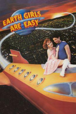 """Постер к фильму """"Земные девушки легко доступны"""" /Earth Girls Are Easy/ (1988)"""