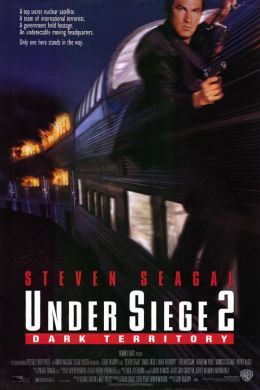 """Постер к фильму """"В осаде 2: Темная территория"""" /Under Siege 2: Dark Territory/ (1995)"""