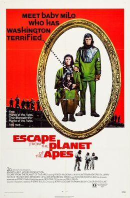 "Постер к фильму ""Бегство с Планеты обезьян"" /Escape from the Planet of the Apes/ (1971)"