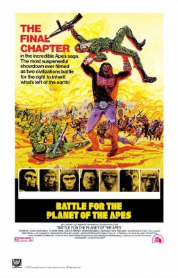 "Постер к фильму ""Битва за планету обезьян"" /Battle for the Planet of the Apes/ (1973)"