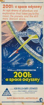 """Постер к фильму """"2001 год: Космическая одиссея"""" /2001: A Space Odyssey/ (1968)"""