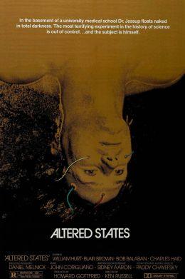 """Постер к фильму """"Другие ипостаси"""" /Altered States/ (1980)"""