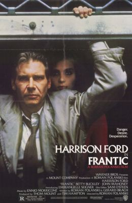 """Постер к фильму """"Неистовый"""" /Frantic/ (1988)"""