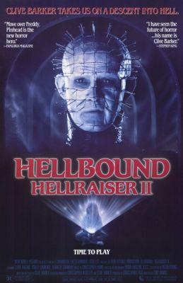 "Постер к фильму ""Восставший из ада 2"" /Hellbound: Hellraiser II/ (1988)"
