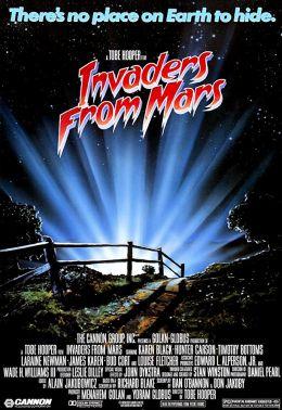 "Постер к фильму ""Пришельцы с Марса"" /Invaders from Mars/ (1986)"