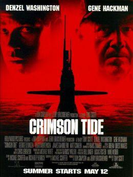 """Постер к фильму """"Багровый прилив"""" /Crimson Tide/ (1995)"""