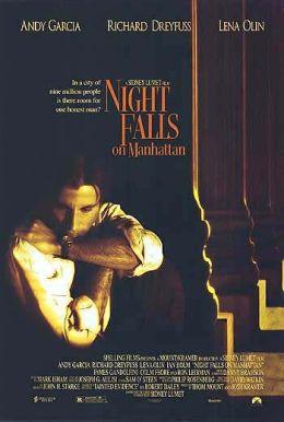 """Постер к фильму """"Ночь над Манхэттеном"""" /Night Falls on Manhattan/ (1996)"""