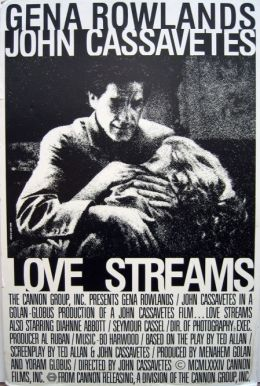 """Постер к фильму """"Потоки любви"""" /Love Streams/ (1984)"""