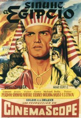 "Постер к фильму ""Египтянин"" /The Egyptian/ (1954)"