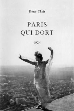 """Постер к фильму """"Париж уснул"""" /Paris qui dort/ (1925)"""