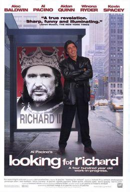 """Постер к фильму """"В ожидании Ричарда"""" /Looking For Richard/ (1996)"""