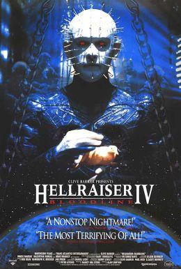 """Постер к фильму """"Восставший из ада 4: Кровное родство"""" /Hellraiser: Bloodline/ (1996)"""