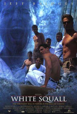"Постер к фильму ""Белый шквал"" /White Squall/ (1996)"