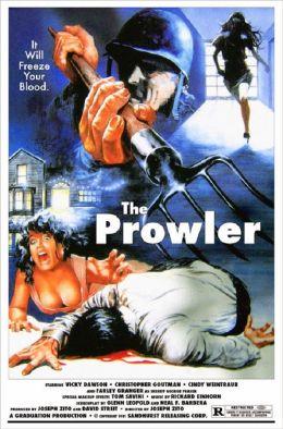 """Постер к фильму """"Незнакомец"""" /The Prowler/ (1981)"""
