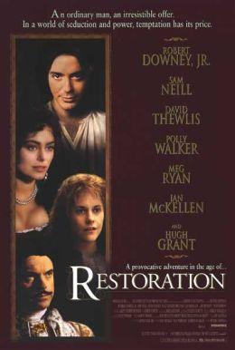 """Постер к фильму """"Королевская милость"""" /Restoration/ (1995)"""