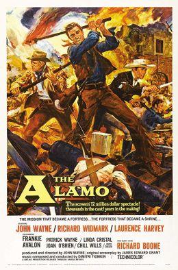 "Постер к фильму ""Форт Аламо"" /The Alamo/ (1960)"