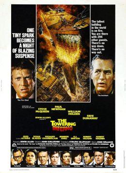 """Постер к фильму """"Ад в поднебесье"""" /The Towering Inferno/ (1974)"""