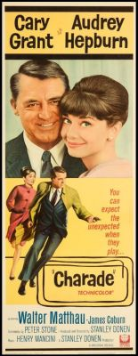 "Постер к фильму ""Шарада"" /Charade/ (1963)"
