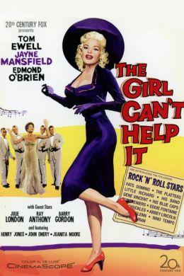 """Постер к фильму """"Эта девушка не может иначе"""" /The Girl Can't Help It/ (1956)"""