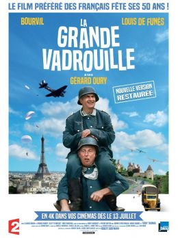 """Постер к фильму """"Большая прогулка"""" /La Grande Vadrouille/ (1966)"""