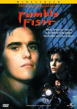 """Постер к фильму """"Бойцовая рыбка"""" /Rumble Fish/ (1983)"""