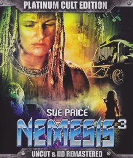 """Постер к фильму """"Немезида 3: провал во времени"""" /Nemesis 3: Time Lapse/ (1996)"""