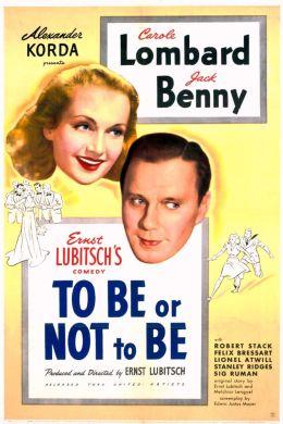 """Постер к фильму """"Быть или не быть"""" /To Be Or Not To Be/ (1942)"""
