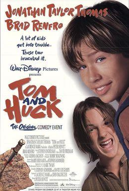 """Постер к фильму """"Приключения Тома Сойера"""" /Tom And Huck/ (1995)"""