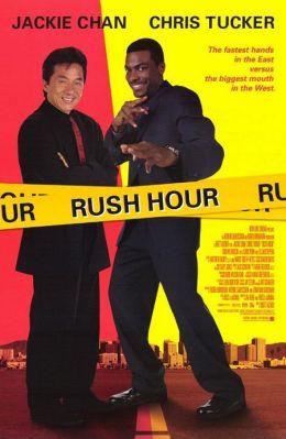 """Постер к фильму """"Час пик"""" /Rush Hour/ (1998)"""
