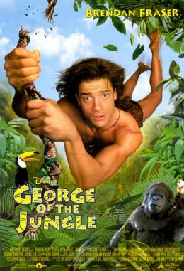 """Постер к фильму """"Джордж из джунглей"""" /George of the Jungle/ (1997)"""