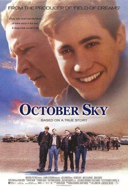 """Постер к фильму """"Октябрьское небо"""" /October Sky/ (1999)"""