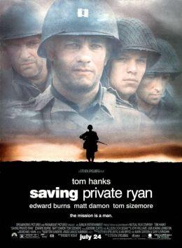 """Постер к фильму """"Спасти рядового Райана"""" /Saving Private Ryan/ (1998)"""