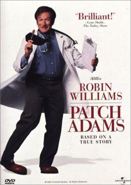 """Постер к фильму """"Целитель Адамс"""" /Patch Adams/ (1998)"""