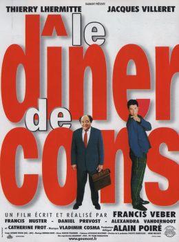 """Постер к фильму """"Ужин с придурком"""" /le Diner de cons/ (1998)"""
