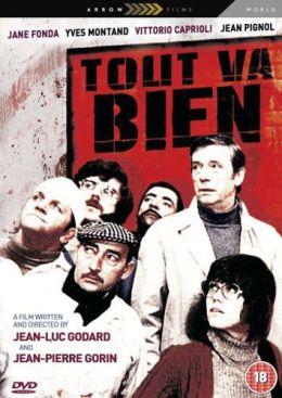 """Постер к фильму """"Все в порядке"""" /Tout va bien/ (1972)"""