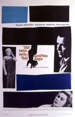 """Постер к фильму """"Человек с золотой рукой"""" /The Man with the Golden Arm/ (1955)"""
