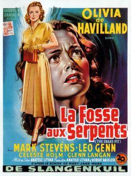"""Постер к фильму """"Змеиная яма"""" /The Snake Pit/ (1948)"""