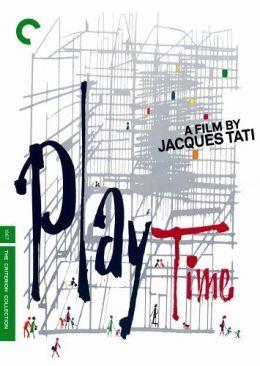 """Постер к фильму """"Время развлечений"""" /Playtime/ (1967)"""